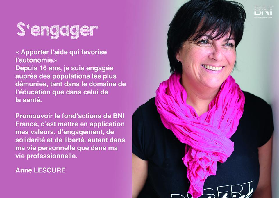 Anne LESCURE - Porte-parole