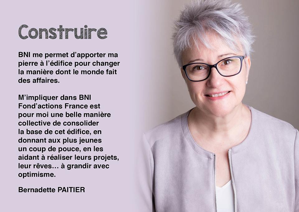 Bernadette PAITIER - Secrétaire