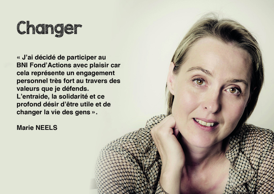 Marie NEELS - Responsable des Projets