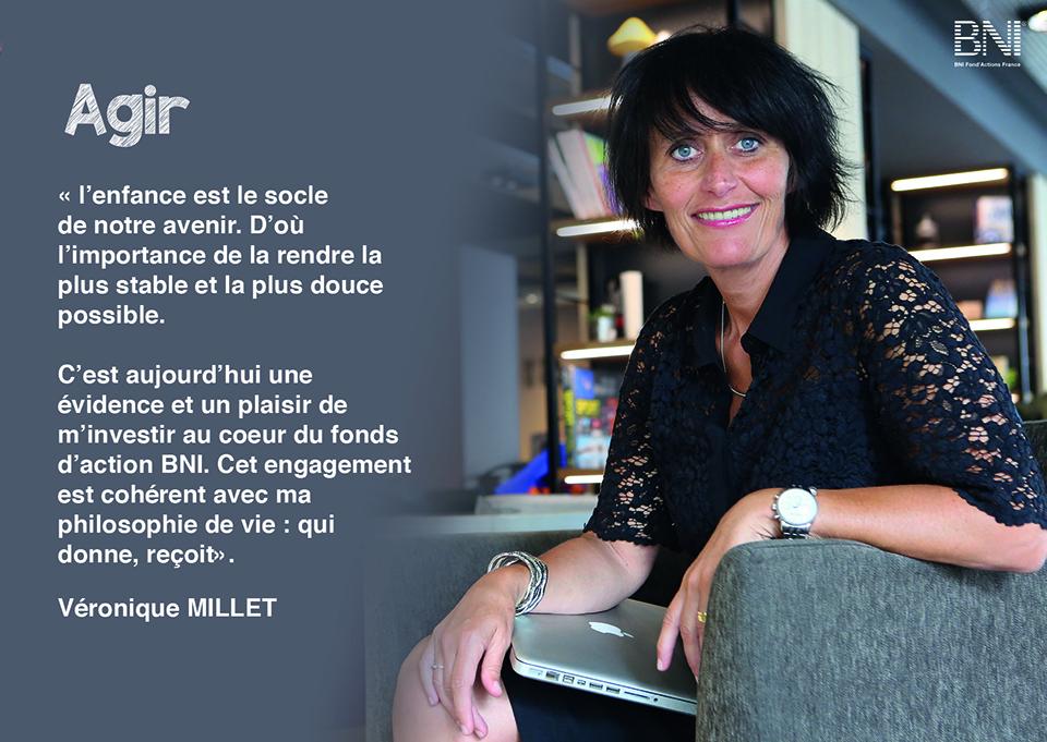 Véronique MILLET - Responsable de la communication